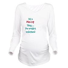 Mini Lop Thing Long Sleeve Maternity T-Shirt