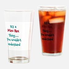 Mini Rex Thing Drinking Glass
