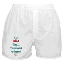 Rabbit thing Boxer Shorts