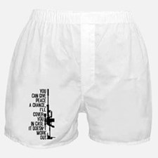 You Can Give Peace a Chance Boxer Shorts