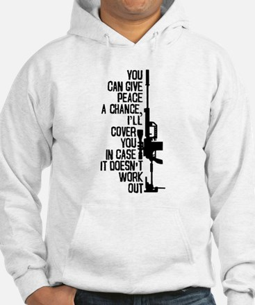 You Can Give Peace a Chance Jumper Hoody