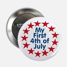First 4th of July Button