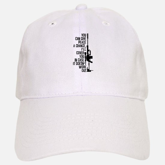 You Can Give Peace a Chance Baseball Baseball Cap