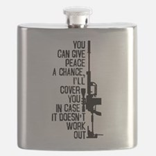 You Can Give Peace a Chance Flask