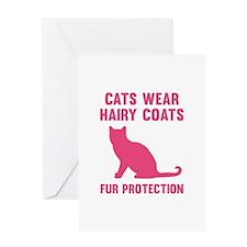 Fur Protection Greeting Card