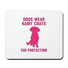 Fur Protection Mousepad