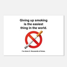 Giving Up Smoking Postcards (Package of 8)