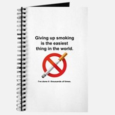 Giving Up Smoking Journal