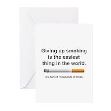 Giving Up Smoking Greeting Cards (Pk of 20)