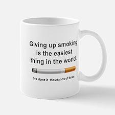 Giving Up Smoking Mug