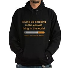 Giving Up Smoking Hoodie