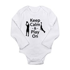 Keep Calm and Play On (Basketball) Body Suit