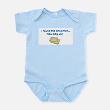 I found the afikomen now pay  Infant Bodysuit