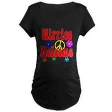 Hippies Welcome Maternity T-Shirt