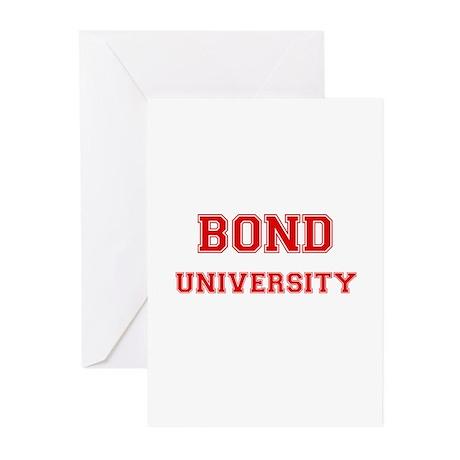 BOND UNIVERSITY Greeting Cards (Pk of 10)