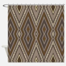 Aztec Earth Shower Curtain