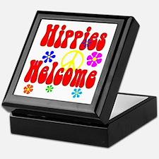 Hippies Welcome Keepsake Box