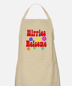 Hippies Welcome Apron