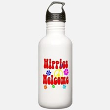 Hippies Welcome Water Bottle