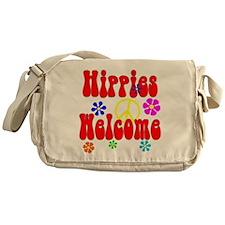 Hippies Welcome Messenger Bag