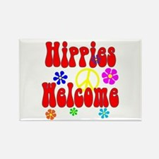 Hippies Welcome Magnets