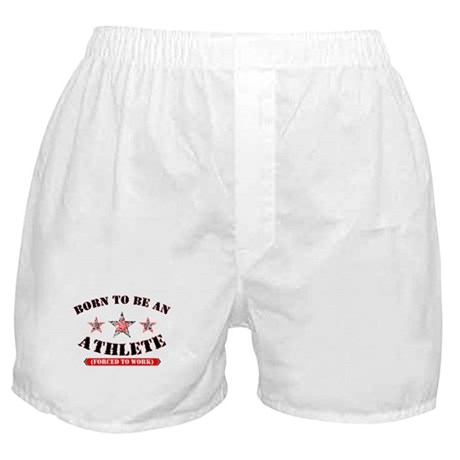 An Athlete... Boxer Shorts