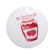 All Jammed Up Ornament (Round)