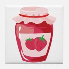Strawberry Jam Tile Coaster