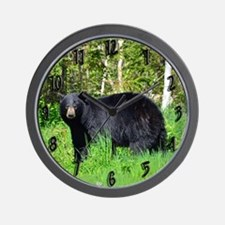 Cute Sowing animals wildlife bears Wall Clock