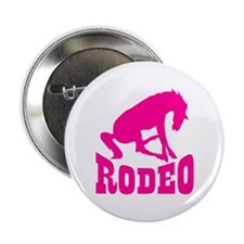 Pink Rodeo Button