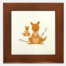 Mammas Joy Framed Tile