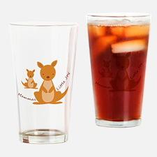 Mammas Joy Drinking Glass