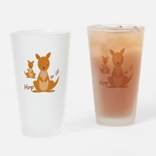 Hop To It Drinking Glass
