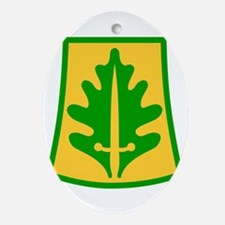 800 Military Police Brigade.png Ornament (Oval)