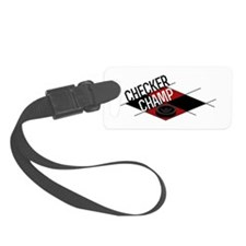 Checker Champ Luggage Tag