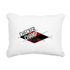Checker Champ Rectangular Canvas Pillow