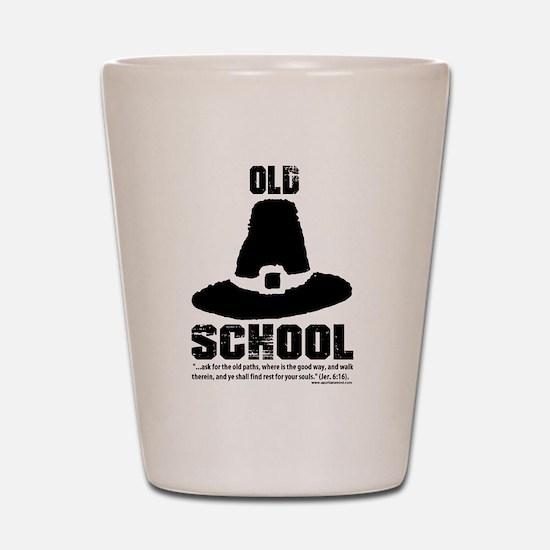 Old School Reformed Puritan Shot Glass