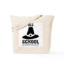 Old School Reformed Puritan Tote Bag