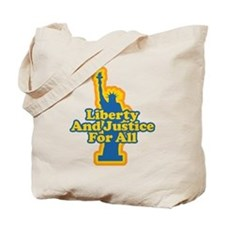 Liberty and Justice Tote Bag
