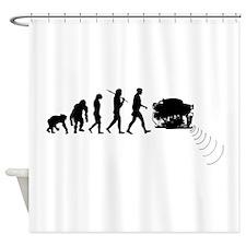 Oceanographer Shower Curtain