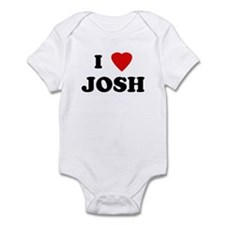 I Love JOSH Infant Bodysuit