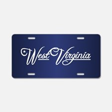 West Virginia State of Mine Aluminum License Plate
