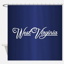 West Virginia State of Mine Shower Curtain