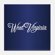 West Virginia State of Mine Tile Coaster