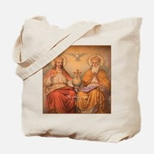 Holy Trinity Scutum Fidei Tote Bag