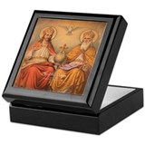 Holy trinity Square Keepsake Boxes