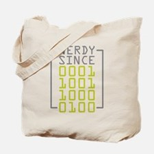Nerdy Since 1984 Tote Bag