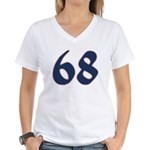 Freak 68 Women's V-Neck T-Shirt