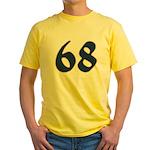 Freak 68 Yellow T-Shirt
