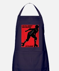ALL ABOUT THE SKATES Apron (dark)